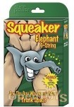 Squeaker Elephant G-String - Black (Male Power)
