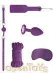 Introductory Bondage Kit 5 - Purple (Shots Toys - Ouch!)