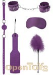 Introductory Bondage Kit 4 - Purple (Shots Toys - Ouch!)