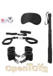 Bed Post Bindings Restraint Kit - Black (Shots Toys - Ouch!)