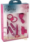 Sweet Smile Couples Toy Set - 7 Pieces (You2Toys - Silicone Stars)